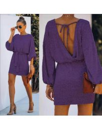 Obleka - koda 940 - vijolična