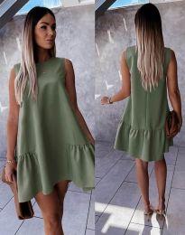 Obleka - koda 3456 - olivno zelena