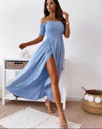 Obleka - koda 11920 - svetlo modra