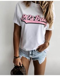Majica - koda 6267 - 1 - bela