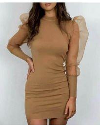 Obleka - koda 3545 - rjava