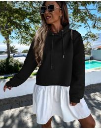 Obleka - koda 6947 - črna