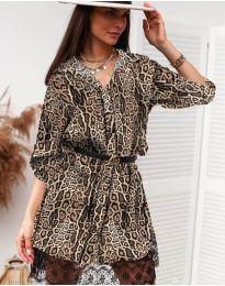 Obleka - koda 3635 - 8 - večbarvna