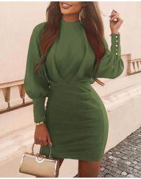 Obleka - koda 4016 - olivna
