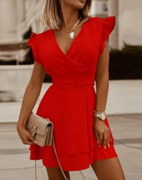 Obleka - koda 5654 - rdeča