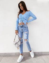 Bluza - koda 0936 - svetlo modra