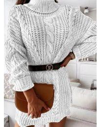 Obleka - koda 6071 - bela