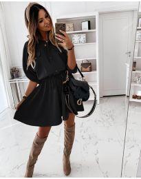 Obleka - koda 8586 - črna