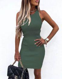 Obleka - koda 6331 - olivno zelena