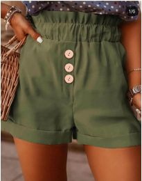 Kratke hlače - koda 9383 - zelena