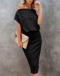 Obleka - koda 1737 - črna