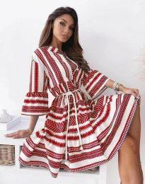 Obleka - koda 1481 - rdeča