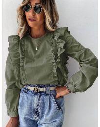 Bluza - koda 6615 - zelena