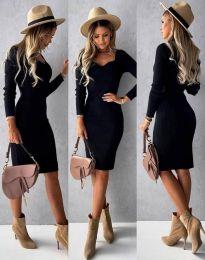 Obleka - koda 4845 - črna