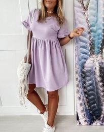 Obleka - koda 1733 - svetlo vijolična