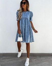 Obleka - koda 0617 - 1 - modra
