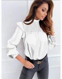 Bluza - koda 6202 - bela
