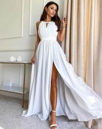 Obleka - koda 6787 - bela