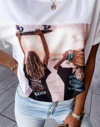 Majica - koda 4514 - bela