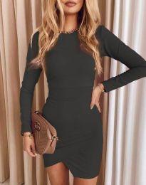 Obleka - koda 2835 - grafitna