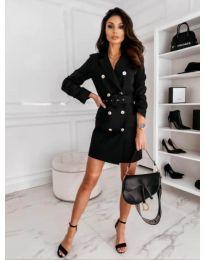 Obleka - koda 5888 - 1 - črna