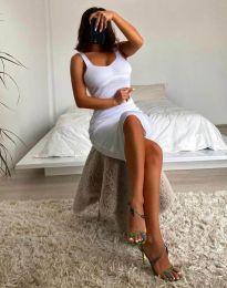 Obleka - koda 10122 - bela
