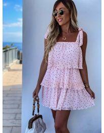 Obleka - koda 6140 - roza