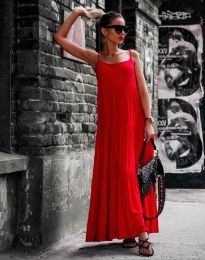 Obleka - koda 2301 - 5 - rdeča