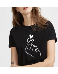 Majica - koda 816 - črna
