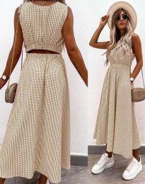Obleka - koda 2687 - bež