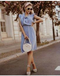 Obleka - koda 7045 - svetlo modra