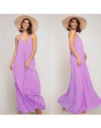 Obleka - koda 0508 - vijolična