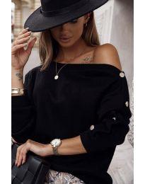 Bluza - koda 4640 - črna