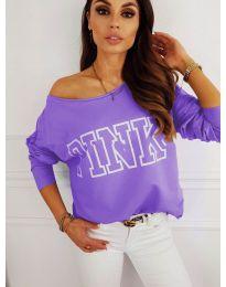 Bluza - koda 5464 - vijolična
