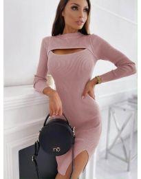 Obleka - koda 4528 - roza