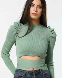 Bluza - koda 4519 - zelena
