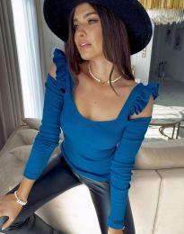 Bluza - koda 2380 - 5 - modra