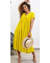 Obleka - koda 4475 - rumena