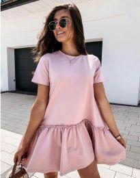 Obleka - koda 11890 - roza