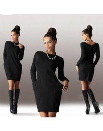 Obleka - koda 341 - črna