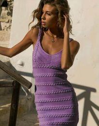 Obleka - koda 2203 - vijolična