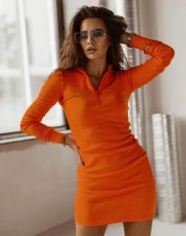 Obleka - koda 4288 - oranžna