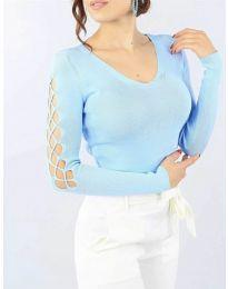 Bluza - koda 6776 - svetlo modra