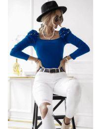 Bluza - koda 15766 - 2 - modra