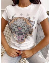 Majica - koda 6596 - bela