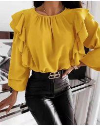 Bluza - koda 4445 - rumena