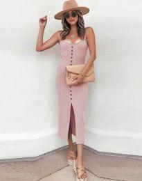 Obleka - koda 8841 - roza