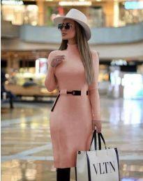 Obleka - koda 2932 - roza