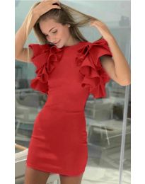 Obleka - koda 939 - rdeča