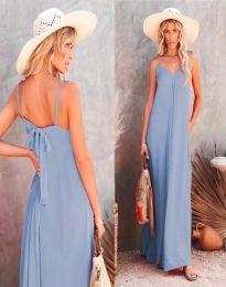 Obleka - koda 4673 - svetlo modra